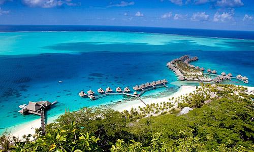Conrad - Bora Bora - Nui - Resort & Spa - Französisch Polynesien ...