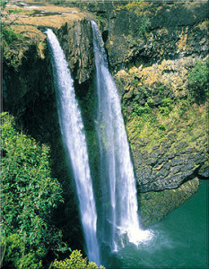 Kauai Wasserfall
