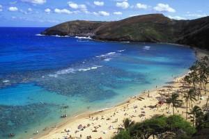 Hanauma Beach auf Oahu