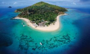 Castaway Island von Oben