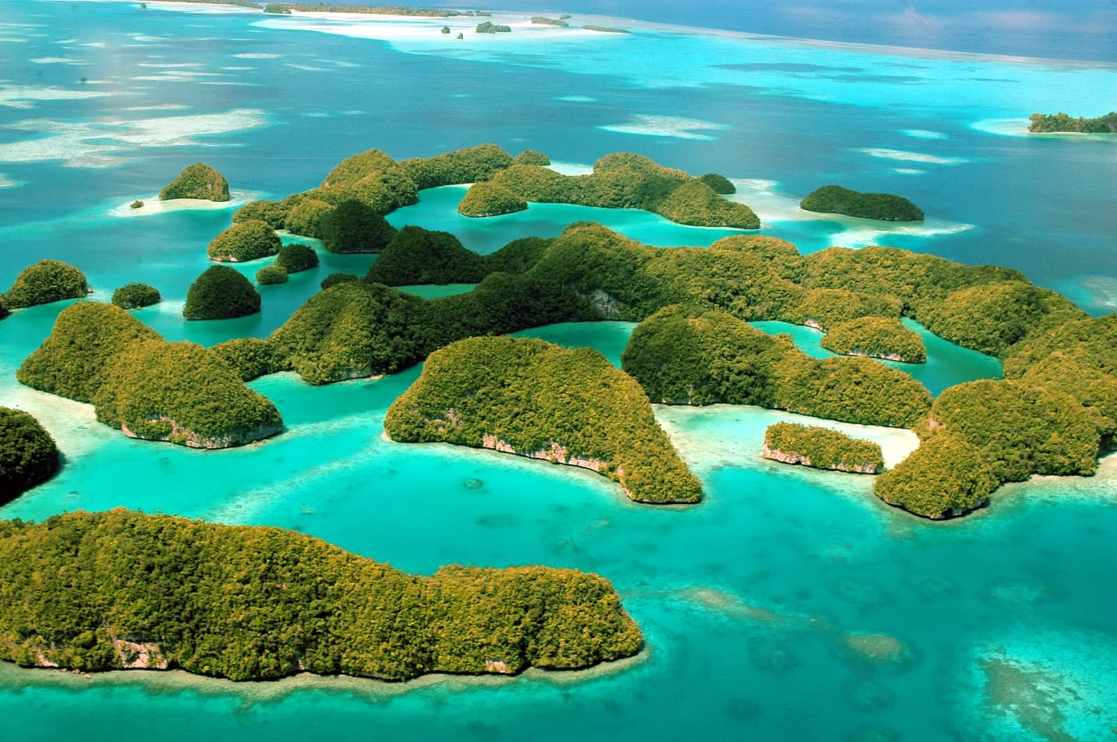Palau- Rock Islands