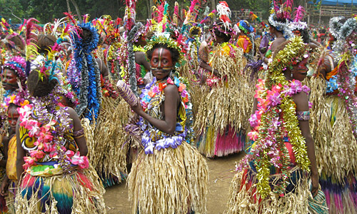 Insel Tanna Vanuatu