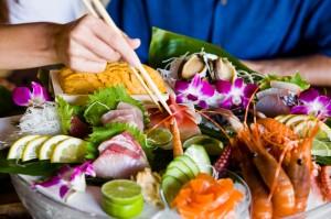 Sushi auf Hawaii