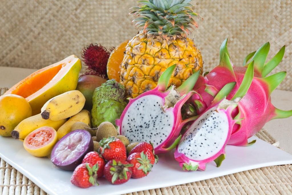 Früchte Hawaiis