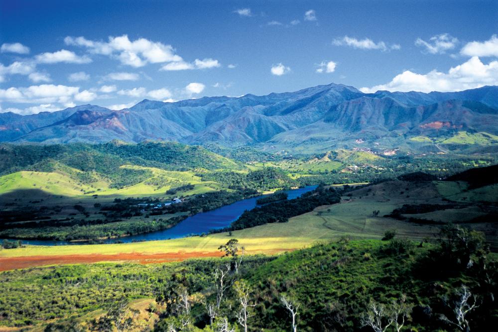Gebirgskette Neukaledonien