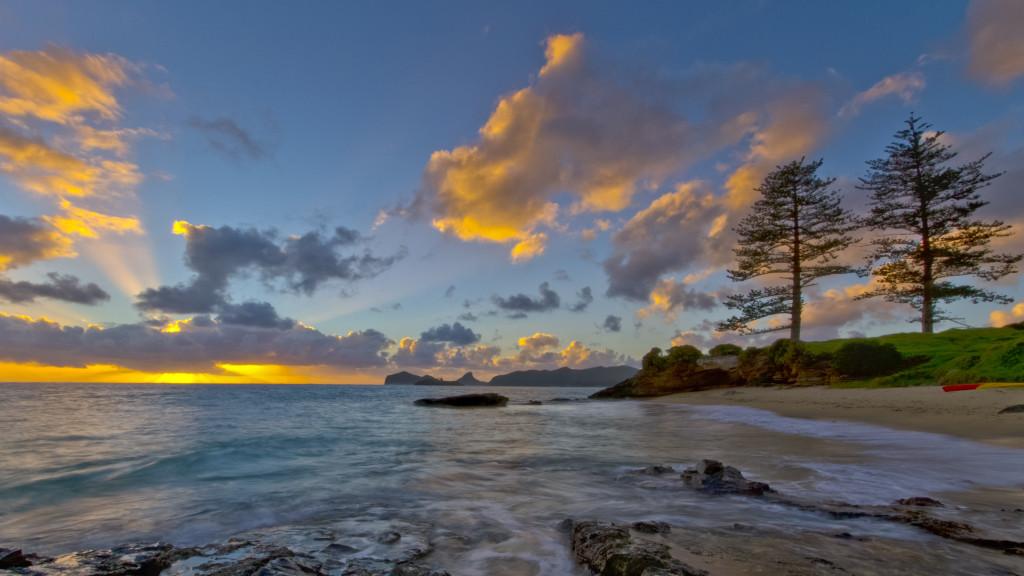 Lovers Beach - Lord Howe Island