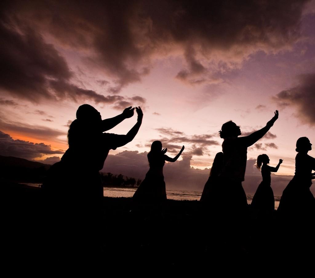 Hula Tänzer auf Hawaii