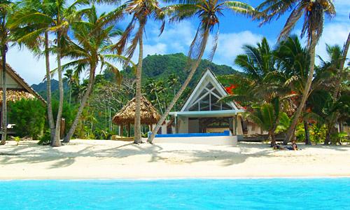 Little Polynesien Seeseitig