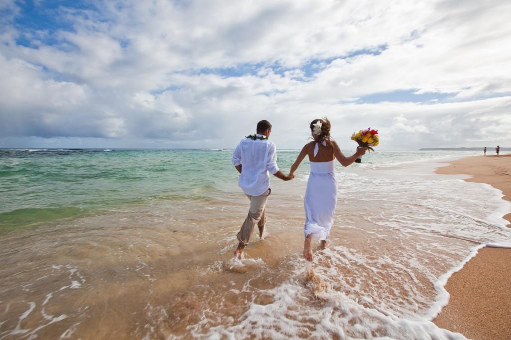 Hochzeit am strand hawaii