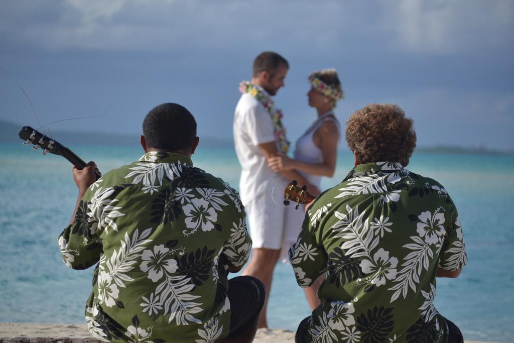 Heiraten am Strand in Französisch-Polynesien