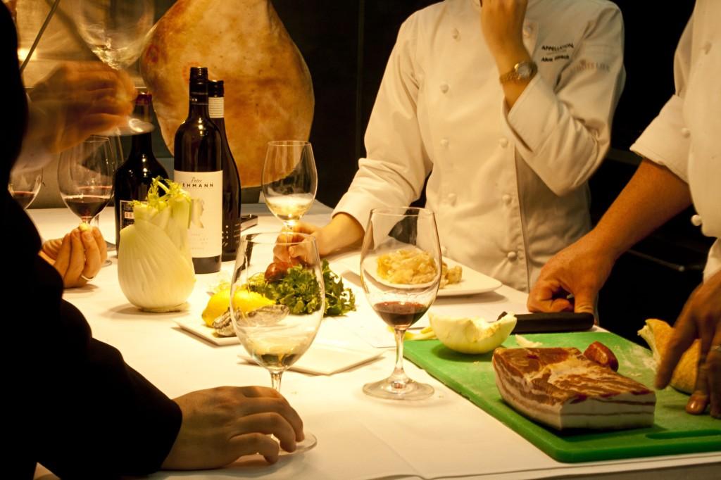 Weinverkostung im Barossa Valley