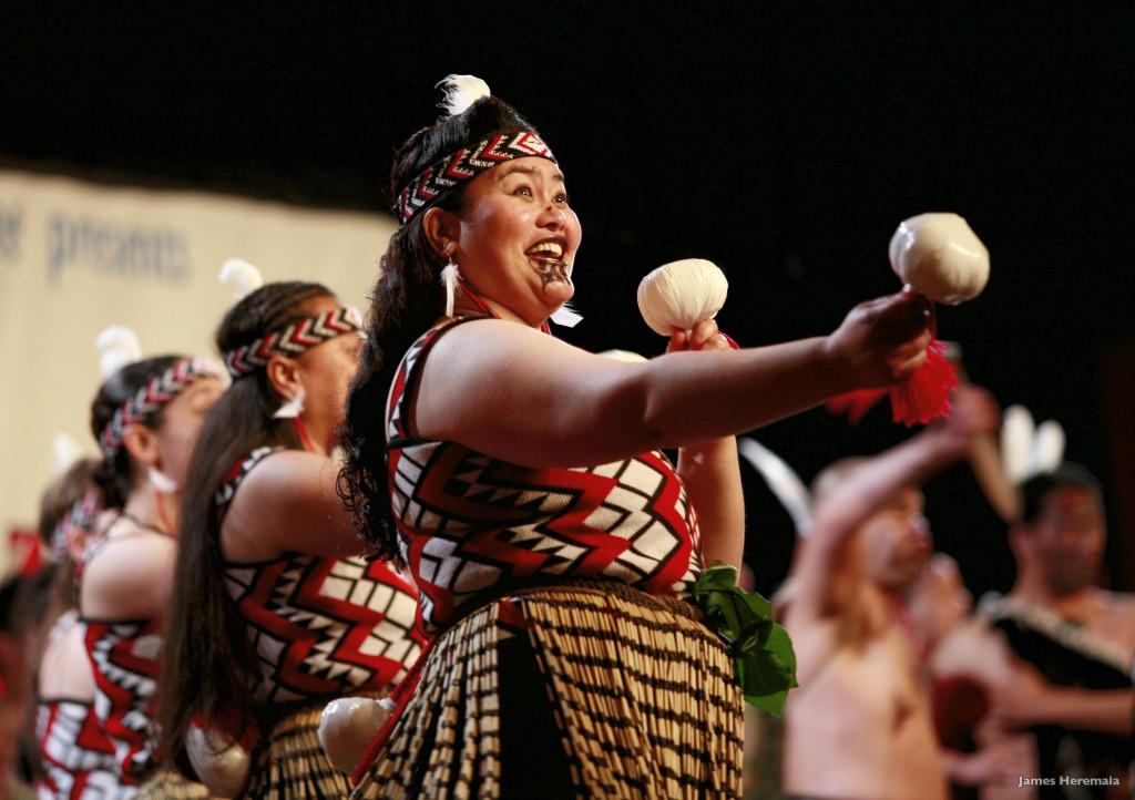 Poi Tanz der Maori