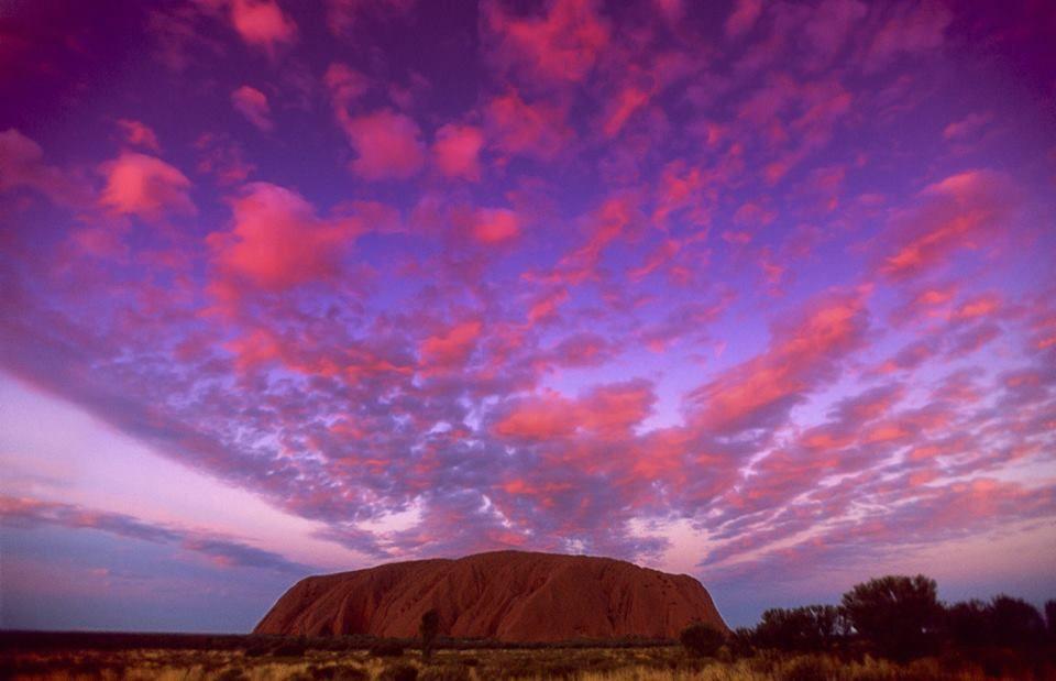 Uluru Farbspiel