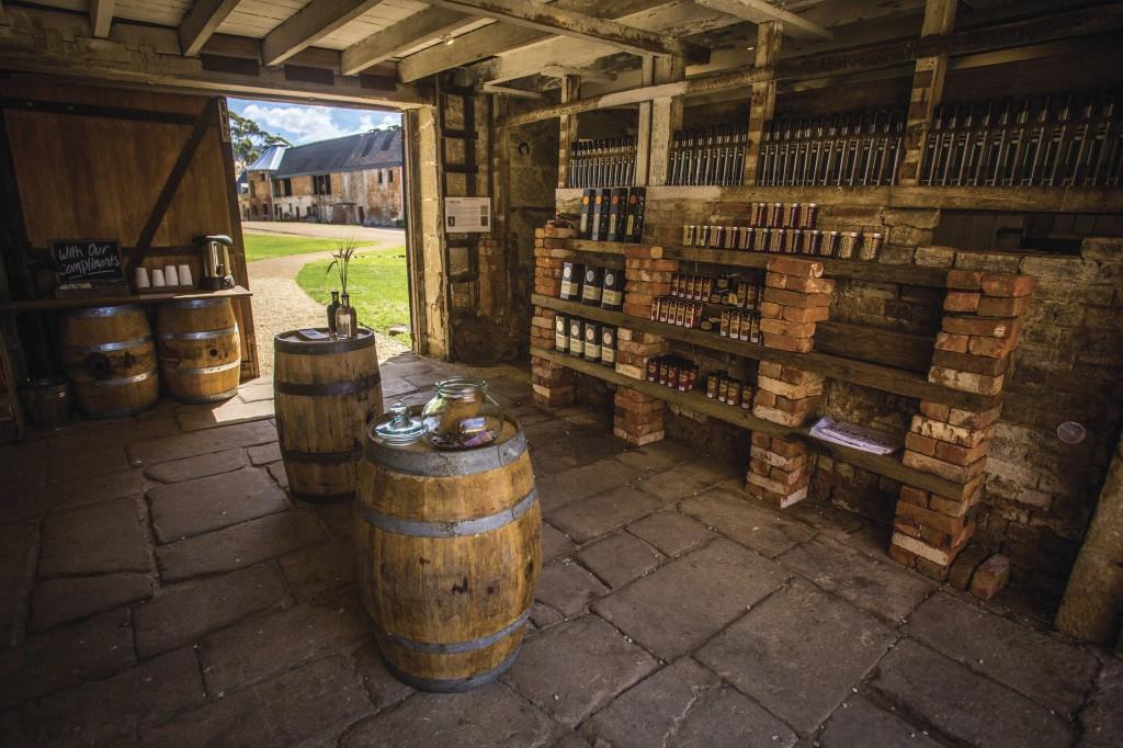 Tasmanien Wein