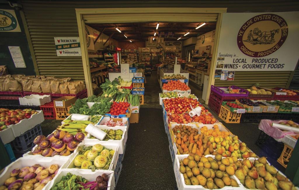 Tasmanien Markt