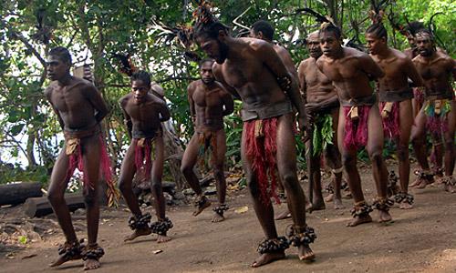 Small Nambas Stamm in Vanuatu