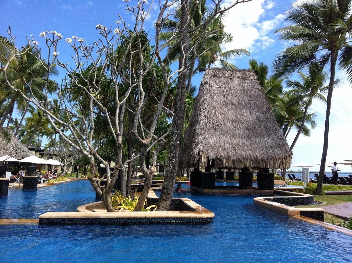 Fiji Flug Hotel