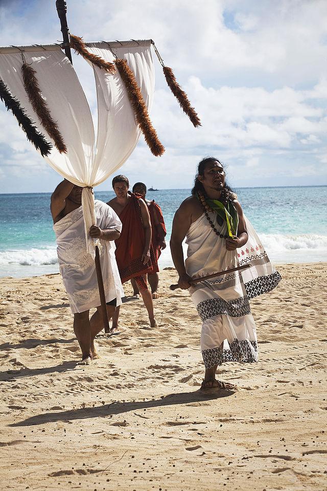Makahiki Festival: Zeremonie für den hawaiianischen Gott Lono