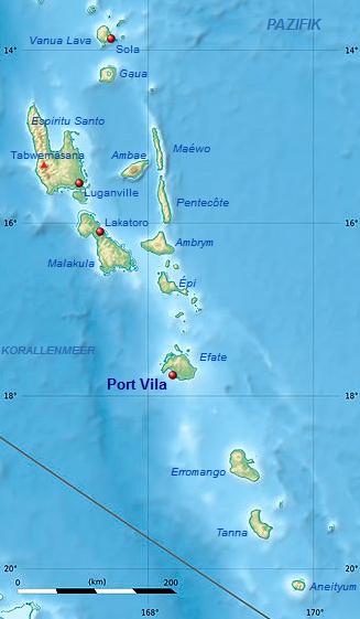 Vanuatu_Karte