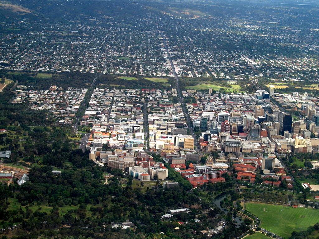 Adelaide von oben