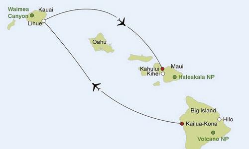 Nationalparks-Wandern-Hawaii