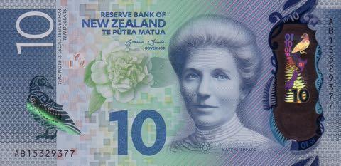Neuseeland-10-Dollar-Schein