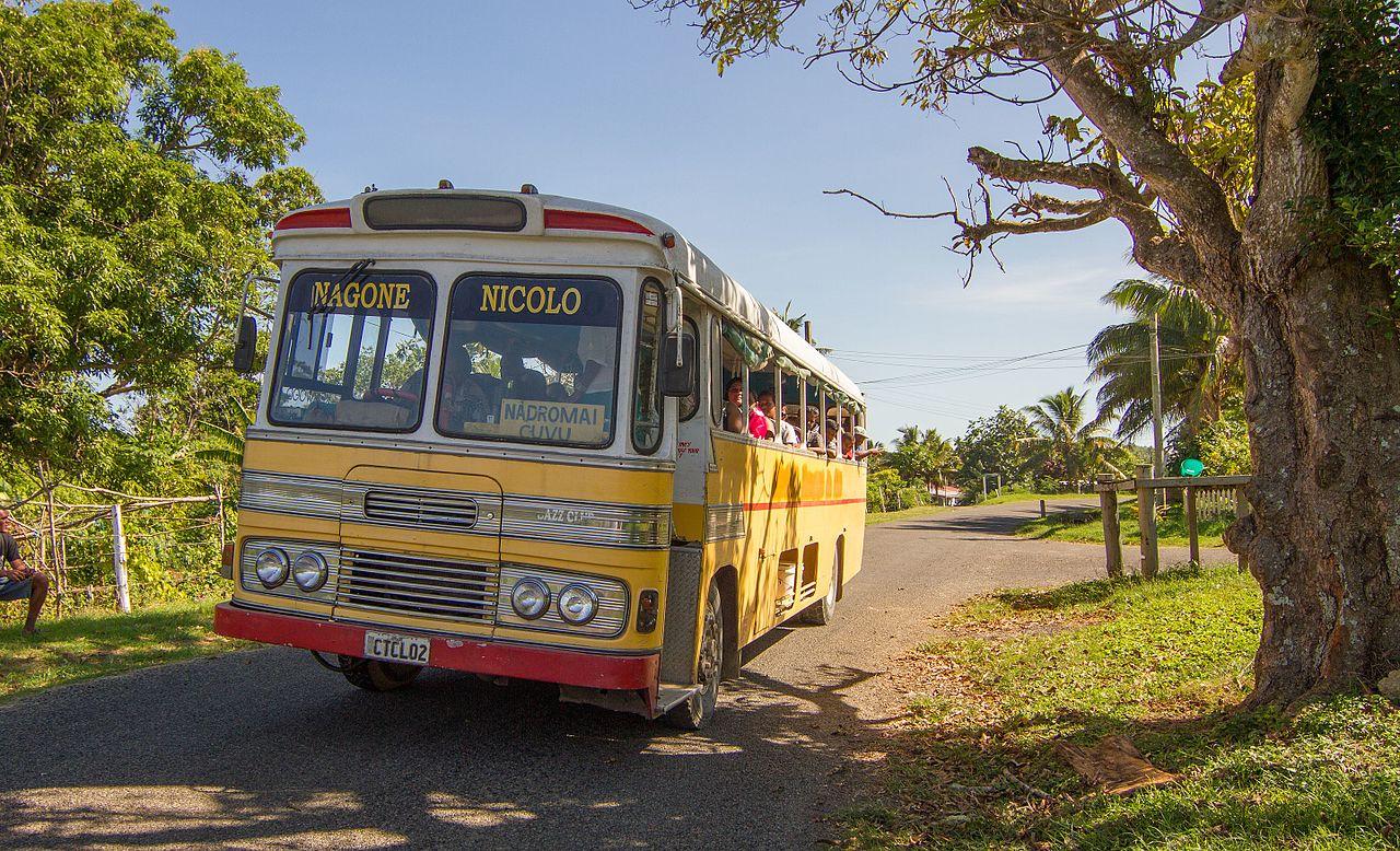 Bus in Viti Levu