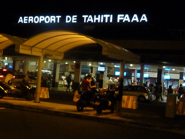 Flughafen Tahiti