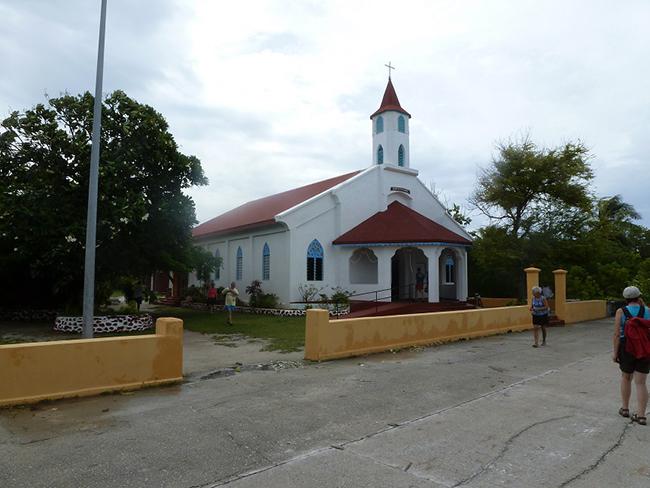 Die Kirche von Rotoava