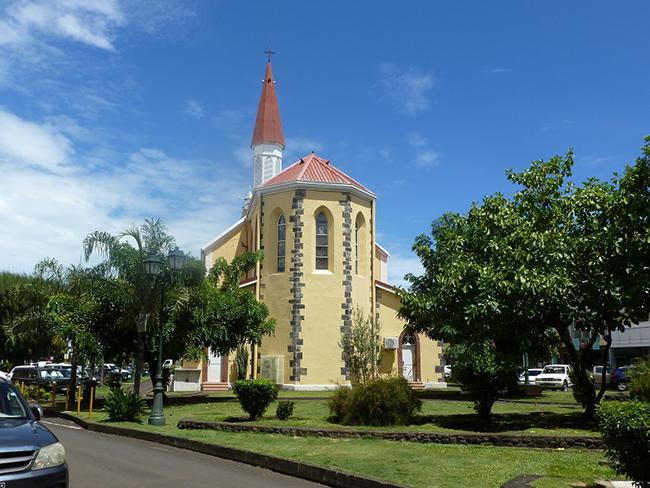 Die Kirche Notre Dame von Papeete