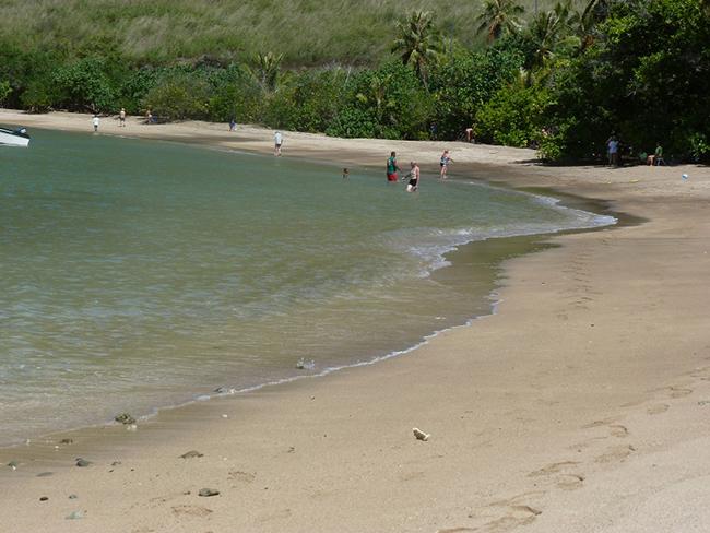 Schöner Strand irgendwo auf Tahuata