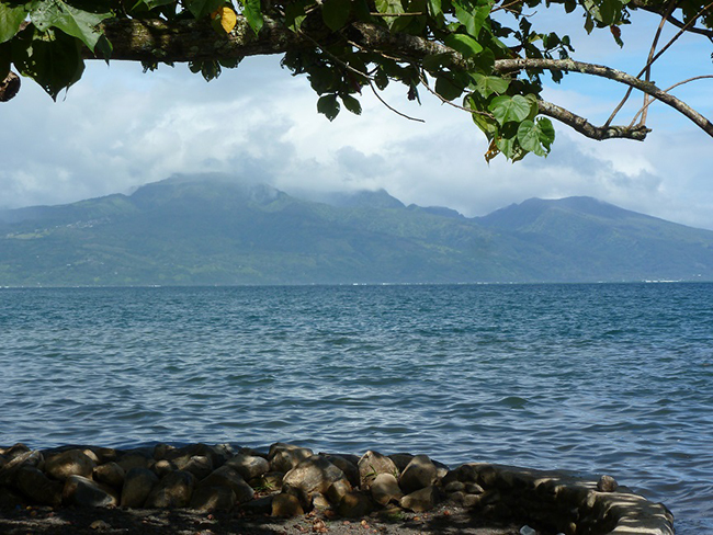 Tahiti Iti in Sicht