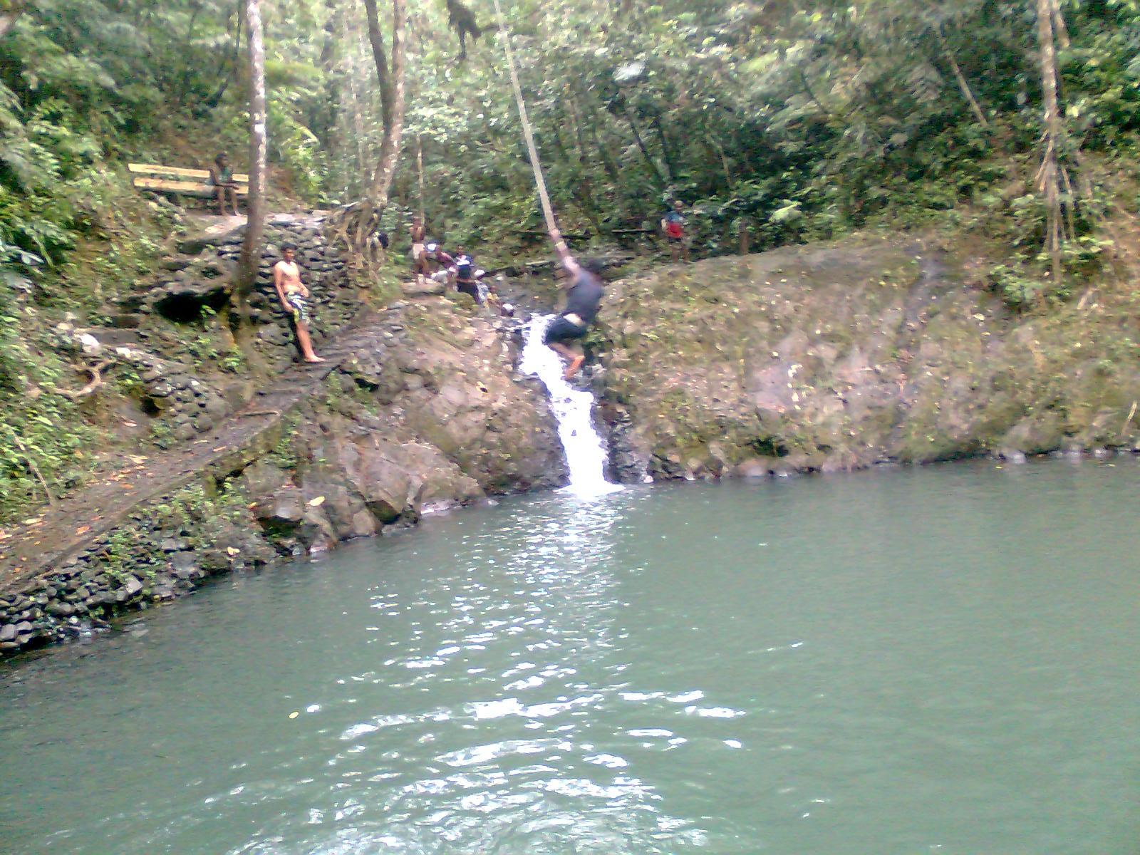 Seil-Spass im Colo i Suva Park