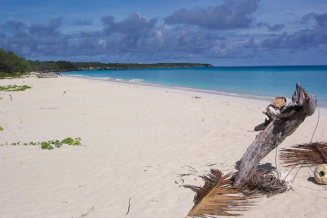 Strand bei Mouli