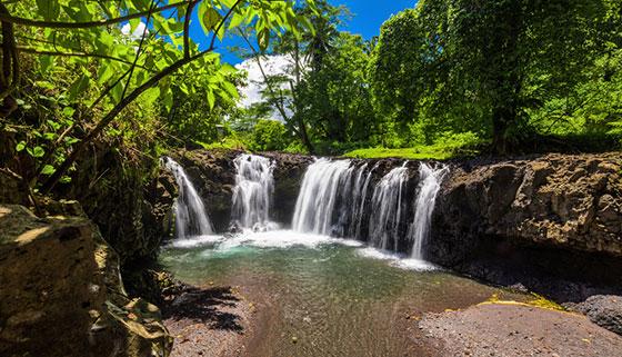 Togitogiga Wasserfälle Samoa