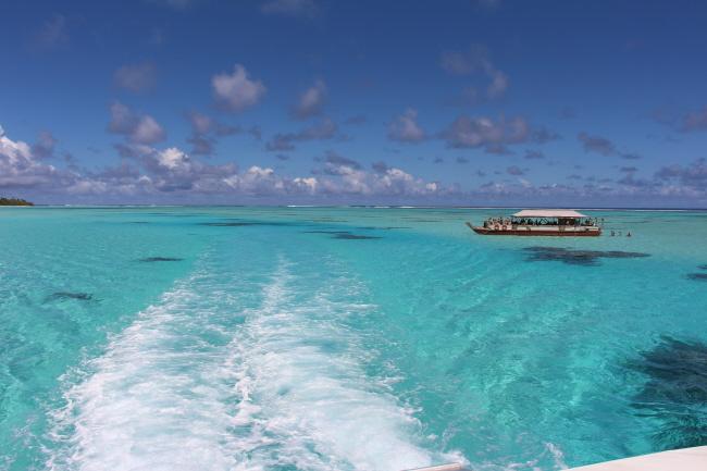 Fahrt nach One Foot Island