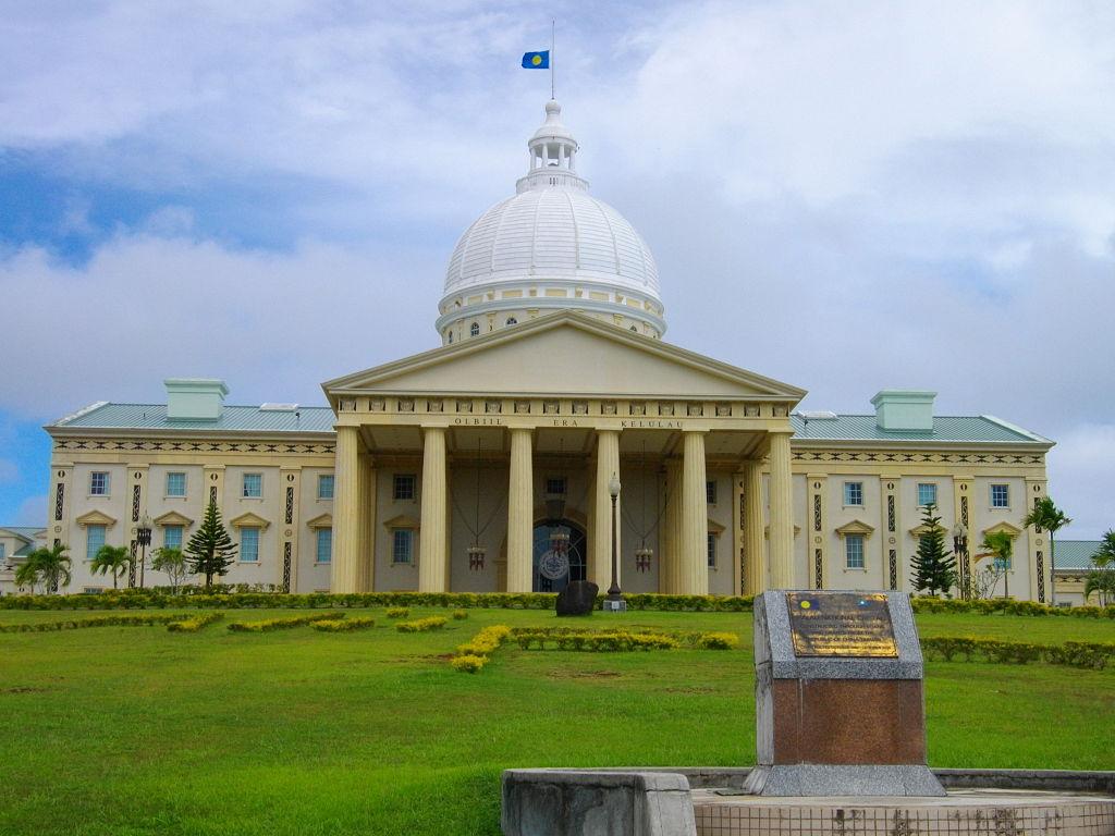 Parlamentsgebäude in Ngerulmud