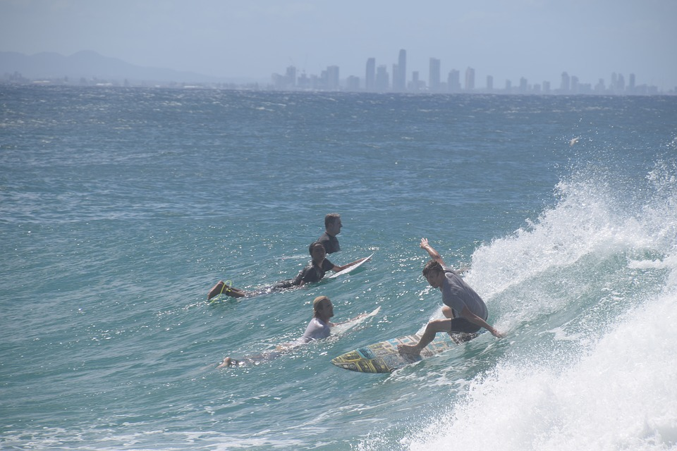 Die Gold Coast - Surfer`s Paradise