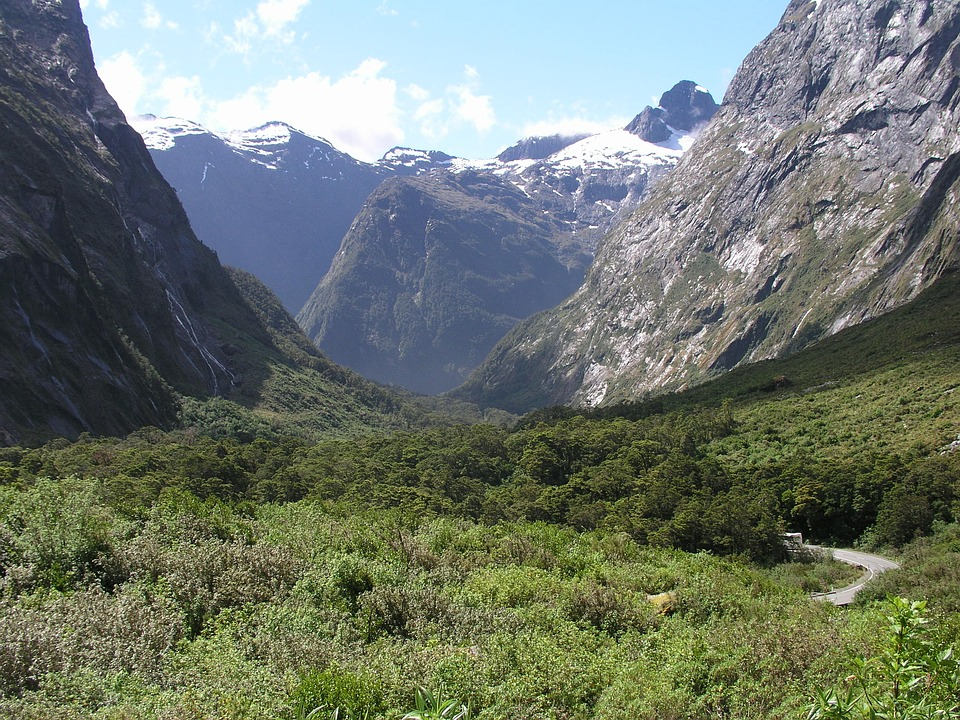 Landschaft am Milford Sound