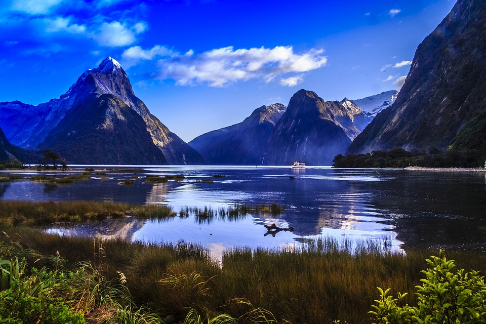Peak Mitre am Milford Sound