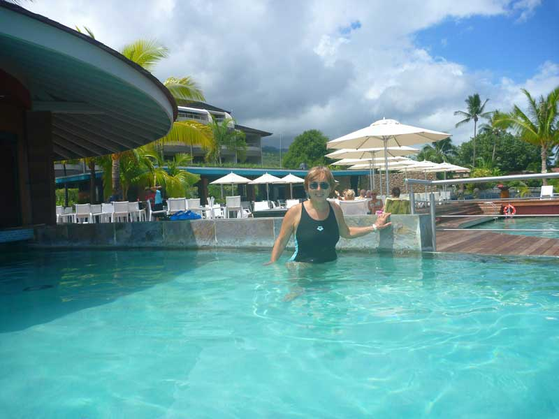 Pool des Manava Suite Resort