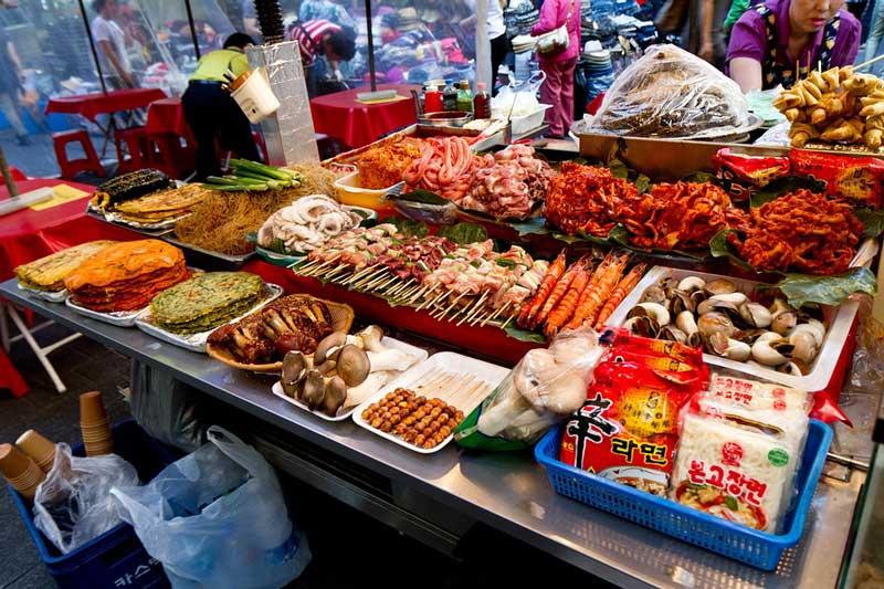 Garküche in Seoul