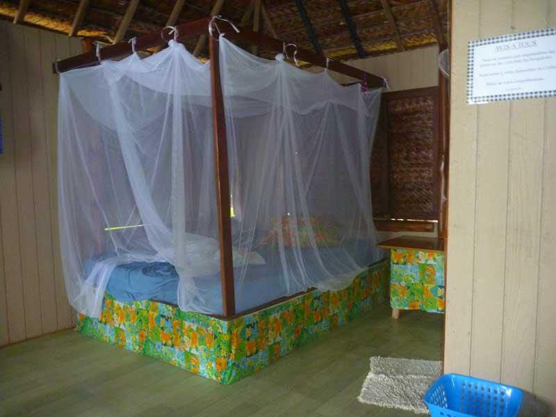 Hütte im Tetamanu Village