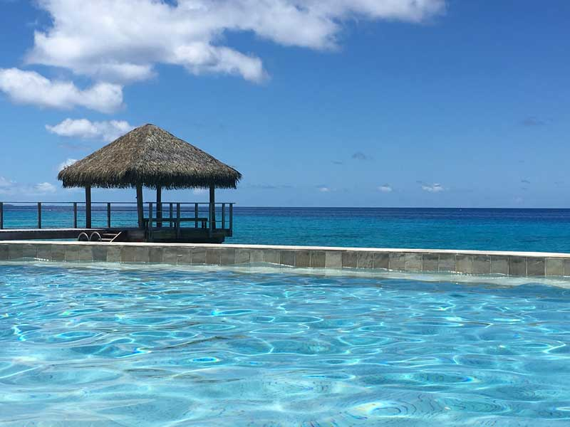 Pool des Maitai Hotels Rangiroa