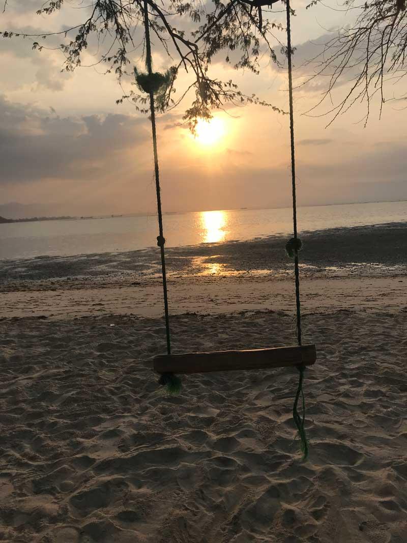 Sonnenuntergang in Ost Timor