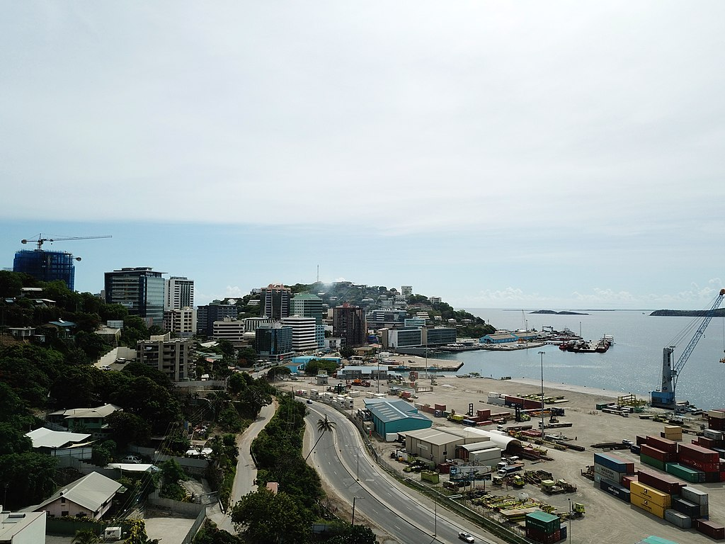Hafen von Port Moresby