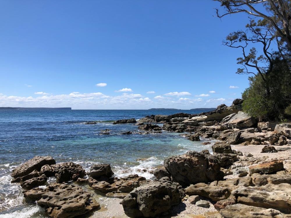 Strand an der Jervis Bay