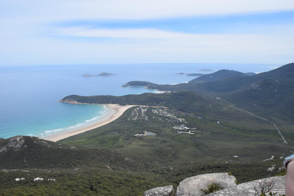 Ausblick vom Mount Oberon im Wilsons Promontory NP