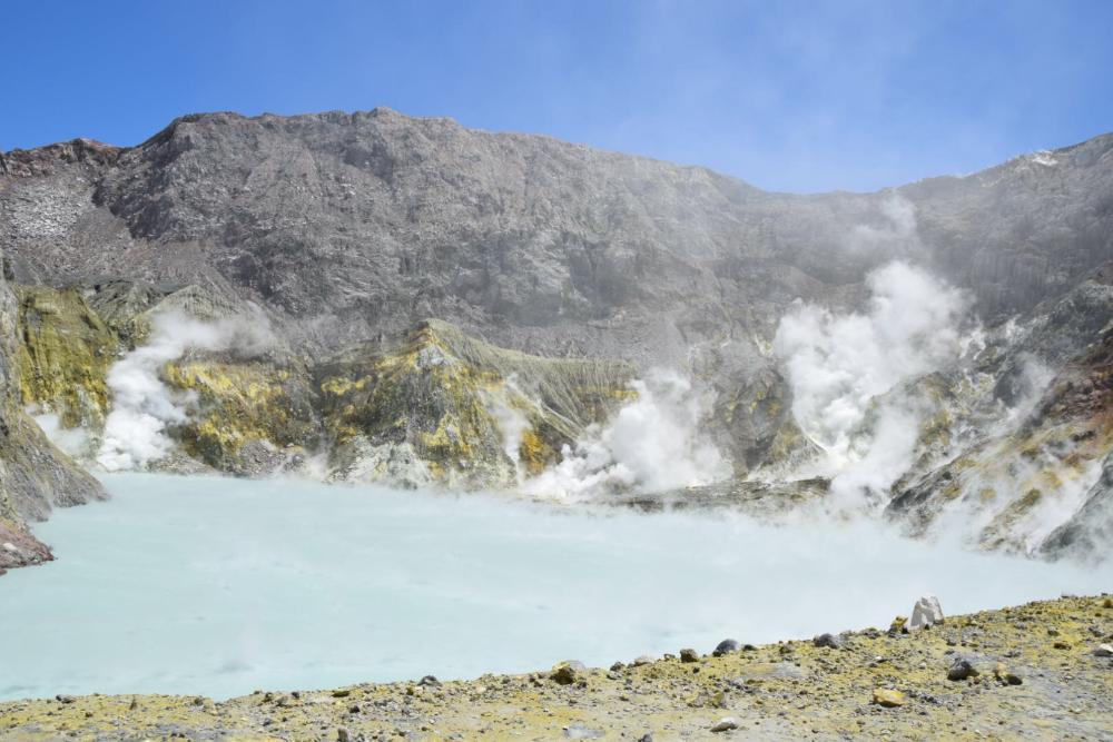Vulkaninsel White Island