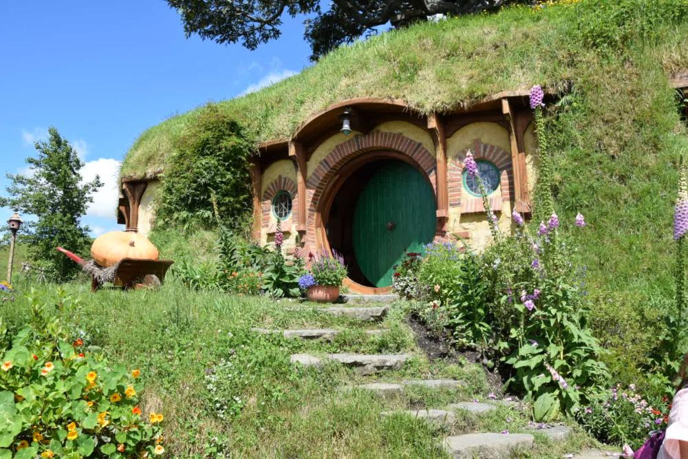 Hobbiton Filmkulisse Herr der Ringe